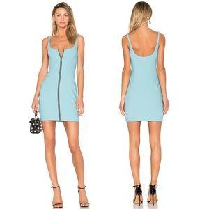 Cinq à Sept Turquoise Body-con Dress